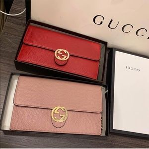 Gucci wallet on chain.